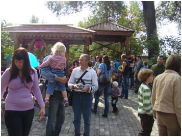 В Самаре состоялось открытие скульптуры Буратино