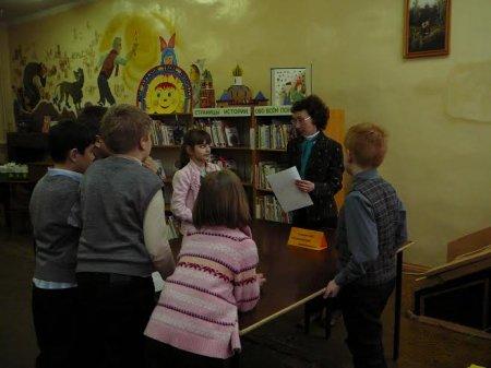 Мастер-класс в детской библиотеке № 3
