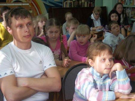 Встреча с писателем Семёновым В.В.