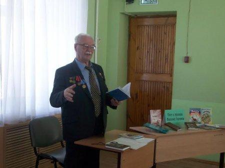 Самарский писатель в гостях у «Юности - 2»
