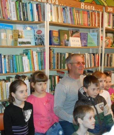Встреча с писателем В.А. Филимоновым