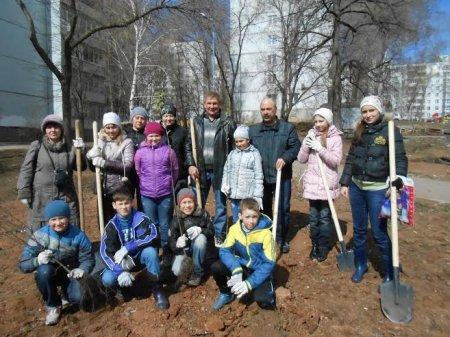 Экологическая Акция «Посади и вырасти дерево»